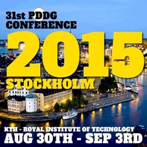31st PDDG Conference 2015, Stockholm, Sweden