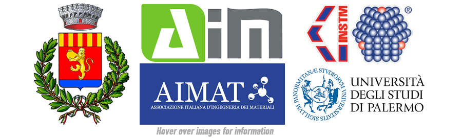 Municipality of Lampedusa; AIMAT: Italian Association for Materials Engineering; AIM: Italian Association of Macromolecules; INSTM: Interuniversity Consortium of Science and Technology of Materials; University of Palermo